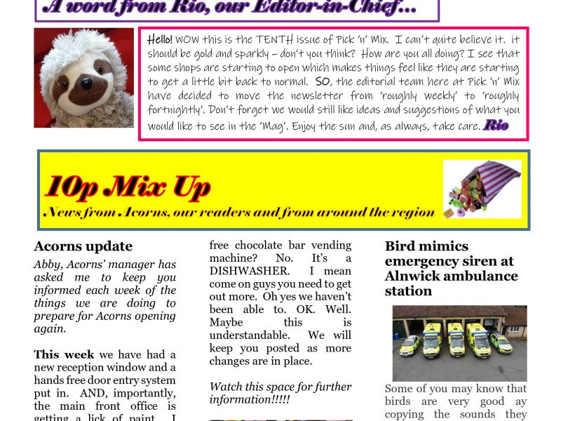Pick-n-Mix Issue 10