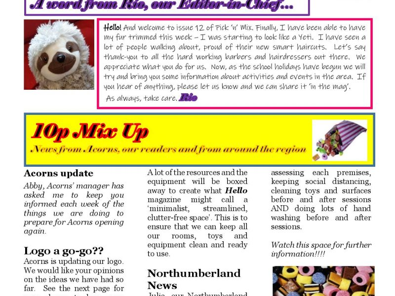 Pick-n-Mix Issue 12